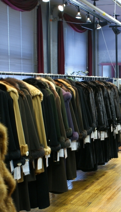 Wolverine Furs offers a  wide array of coats, jackets and accessories for men and women.