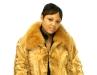 Sheared Mink Jacket W/Fox
