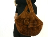 Knitted Mink Purse