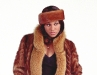 Whiskey Mink Tail & Fox Coat