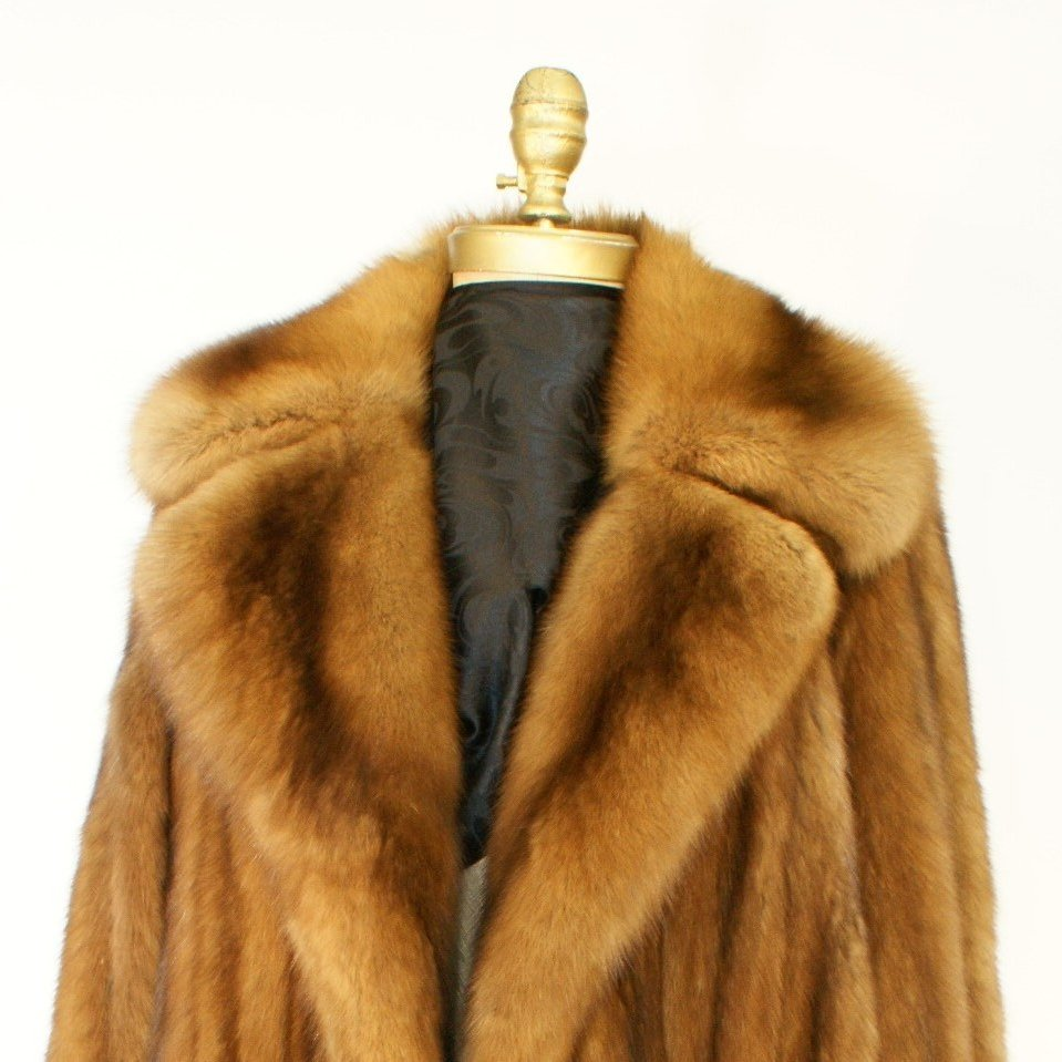 Ben Kahn Russian Sable 3/4 Coat Used 02