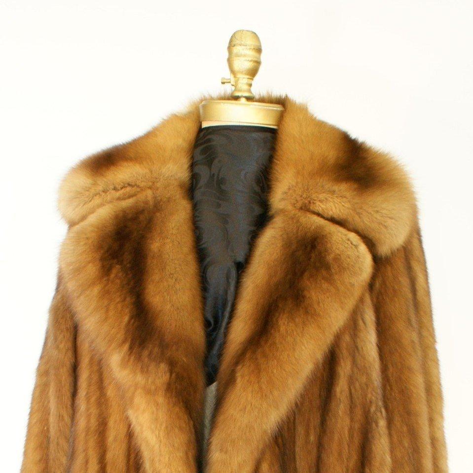 Ben Kahn Russian Sable 3/4 Coat Used 02