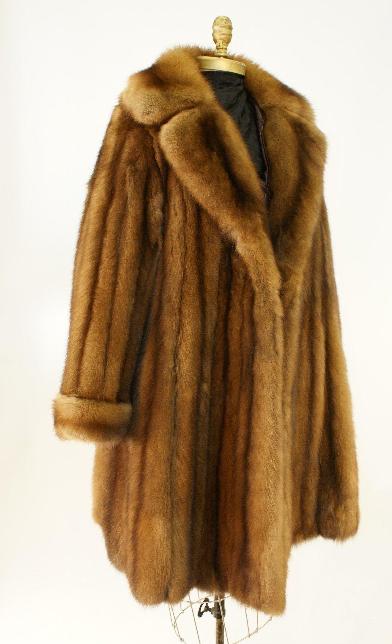 Ben Kahn Russian Sable 3/4 Coat Used 03