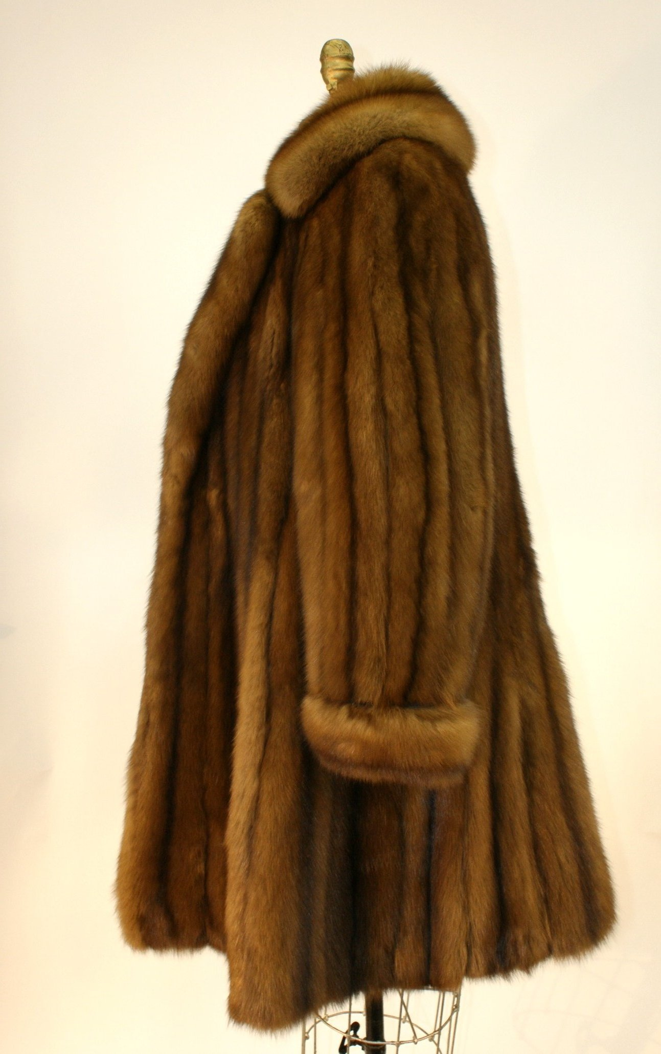 Ben Kahn Russian Sable 3/4 Coat Used 04