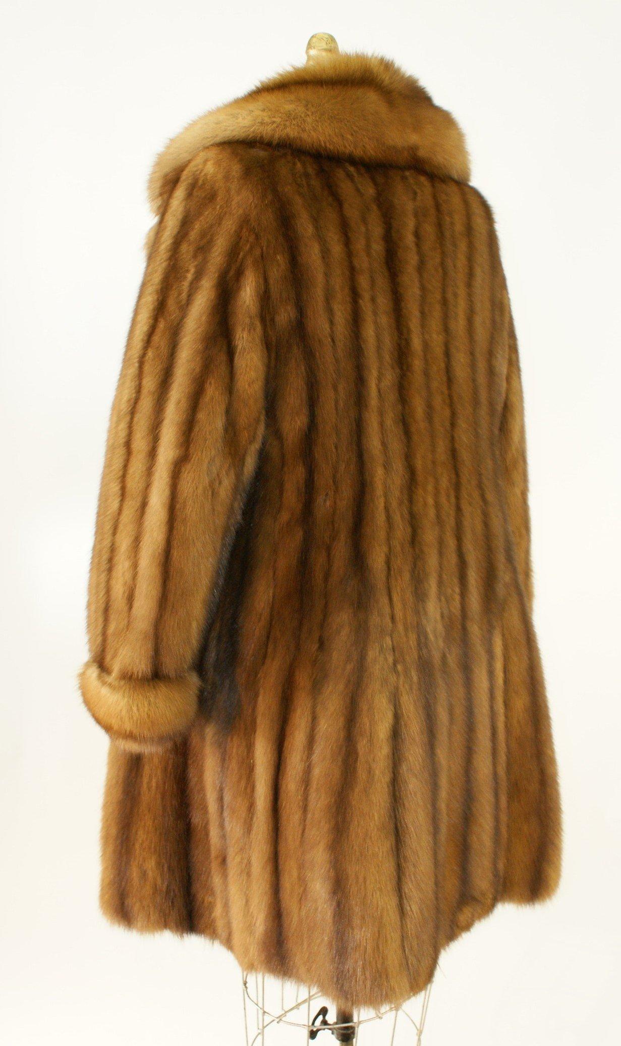 Ben Kahn Russian Sable 3/4 Coat Used 05