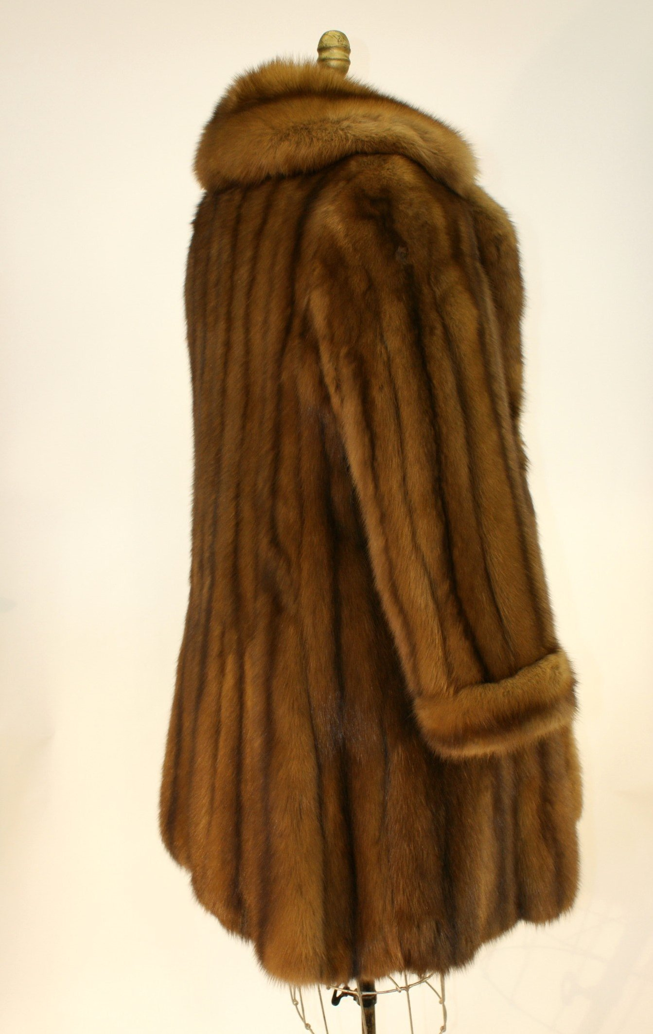 Ben Kahn Russian Sable 3/4 Coat Used 06