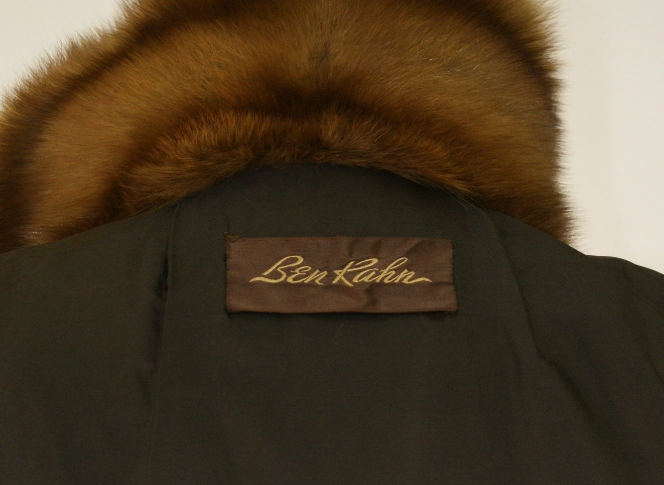 Ben Kahn Russian Sable 3/4 Coat Used 07